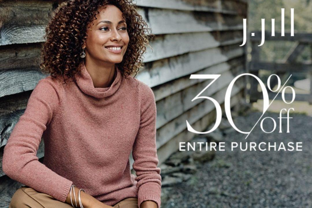 J Jill 30 off entire